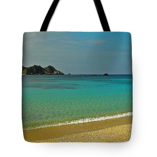 Aharen Beach, Tokashiki-jima, Okinawa Tote Bag