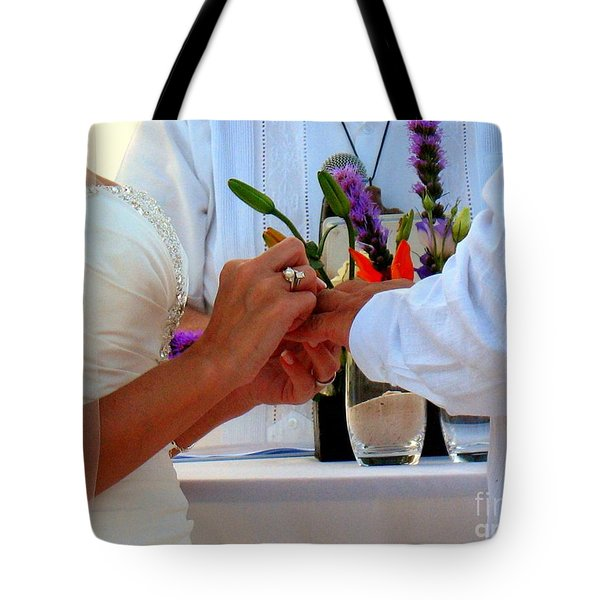 Token Of Love In The Islands Tote Bag by Patti Whitten