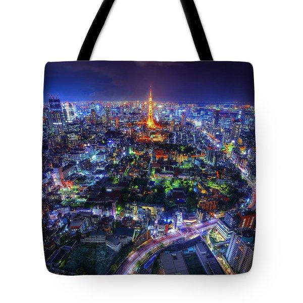 Tokyo Dreamscape Tote Bag