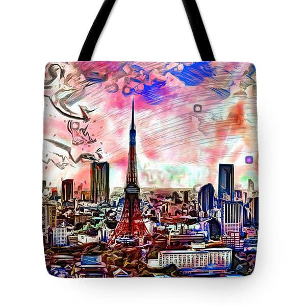 Tokyo Metropolis Tote Bag