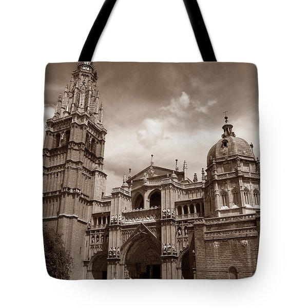 Toledo Cathedral Tote Bag
