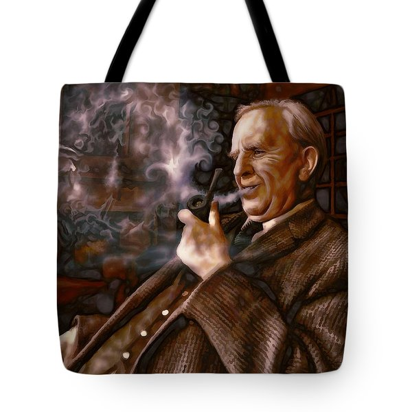 Tolkien Daydreams Tote Bag by Dave Luebbert