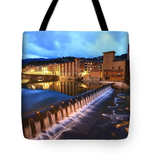 Tote Bag featuring the photograph Tolosa Basque Country by Mariusz Czajkowski