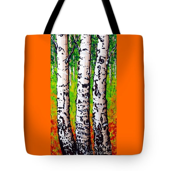 Tom Dick And Harry Tote Bag by Jackie Carpenter