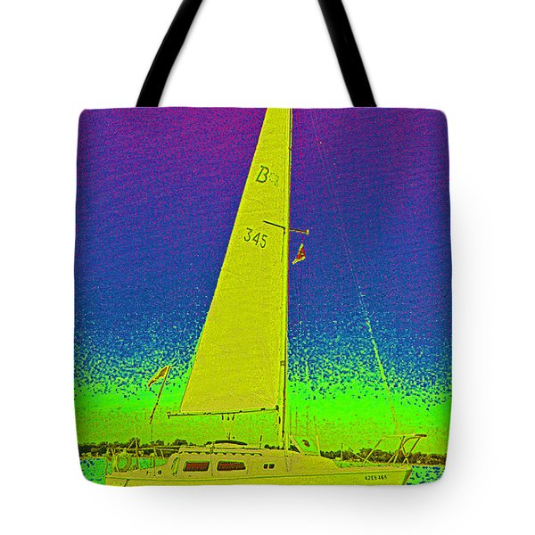 Tom Ray's Sailboat Tote Bag