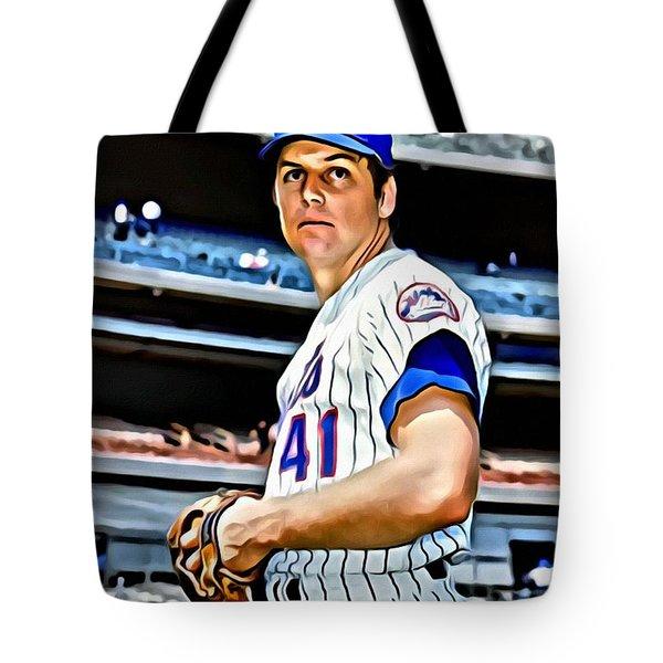 Tom Seaver Tote Bag