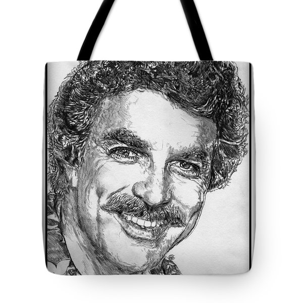 Tom Selleck In 1984 Tote Bag