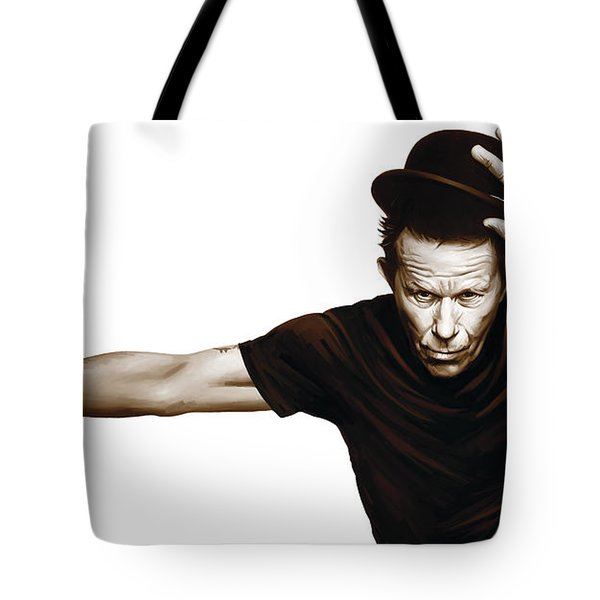 Tom Waits Artwork  4 Tote Bag