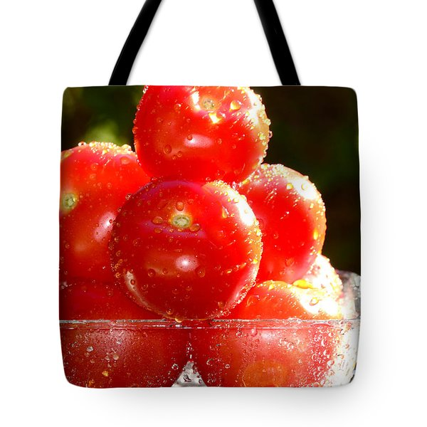 Tomatoes 2 Tote Bag by Sabine Jacobs