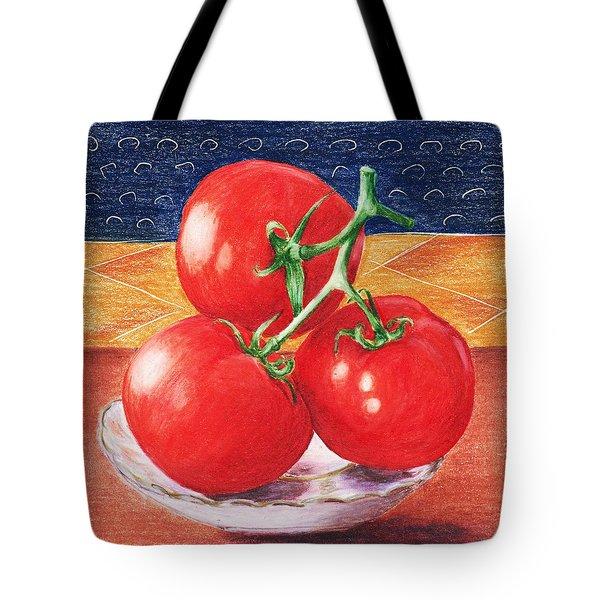 Tomatoes Tote Bag by Anastasiya Malakhova