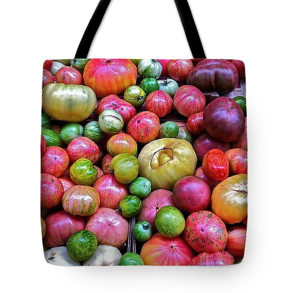 Tote Bag featuring the photograph Tomatoes by Bill Owen