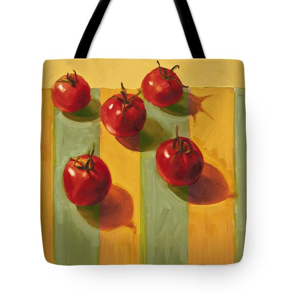 Tomatoes Tote Bag by Cathy Locke