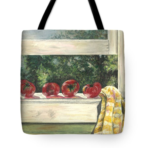 Tomatoes On The Sill Tote Bag