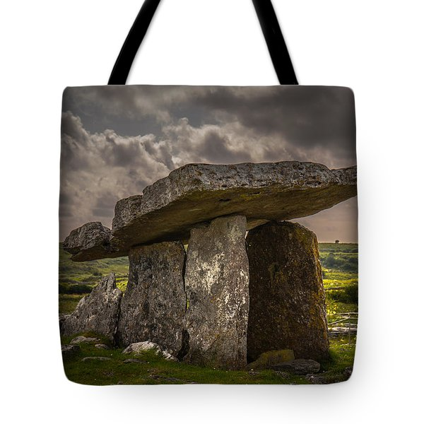 Tomb Of The Ancients Tote Bag by Tim Bryan