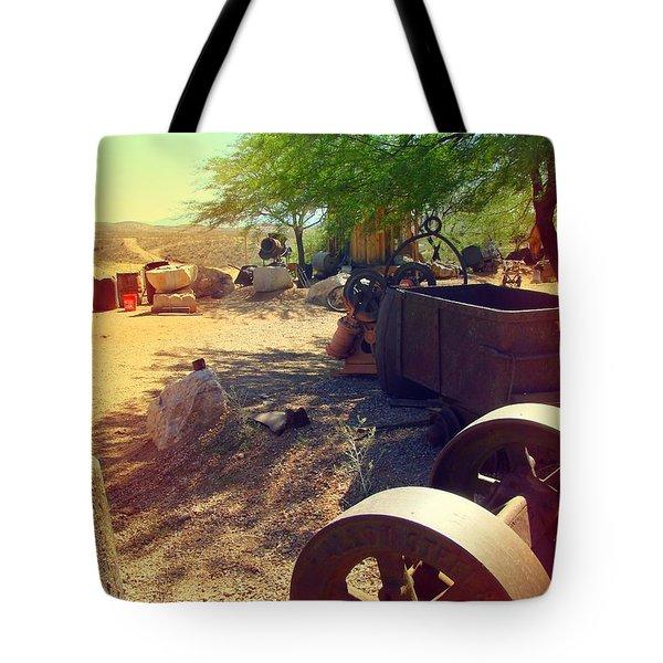 Tombstone Miner's Yard Tote Bag