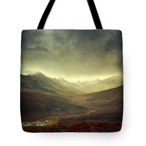 Tombstone Range Seasons Vertical Tote Bag