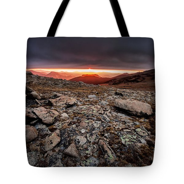 Tombstone Sunrise Tote Bag by Steven Reed
