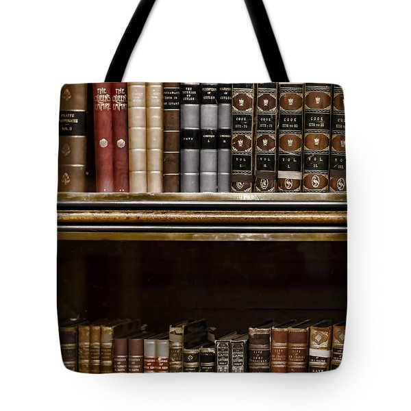 Tomes Tote Bag by Heather Applegate