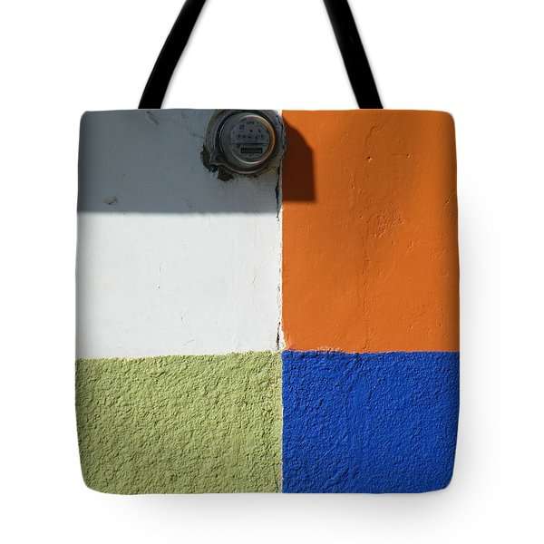 Tote Bag featuring the photograph Tonal Junction by Brian Boyle