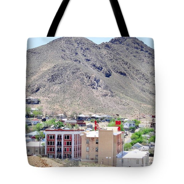 Tote Bag featuring the photograph Tonapah Nevada by Marilyn Diaz
