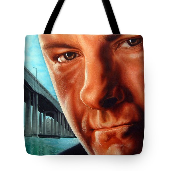 Tony Boss Of Bosses Tote Bag