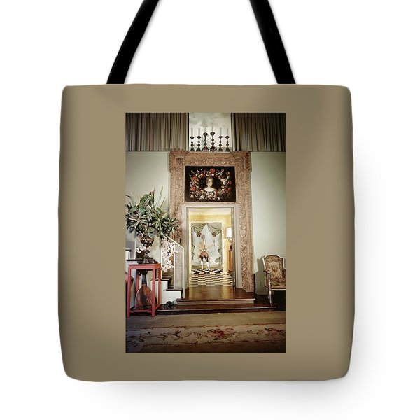 Tony Duquette's Entrance Hall Tote Bag