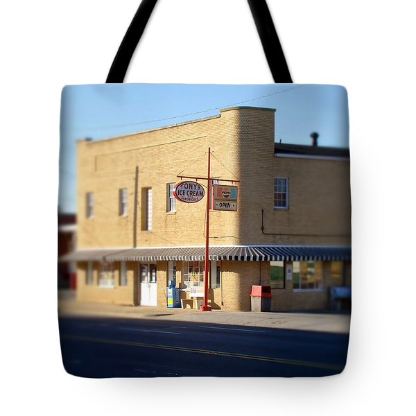 Tony's Ice Cream Tote Bag