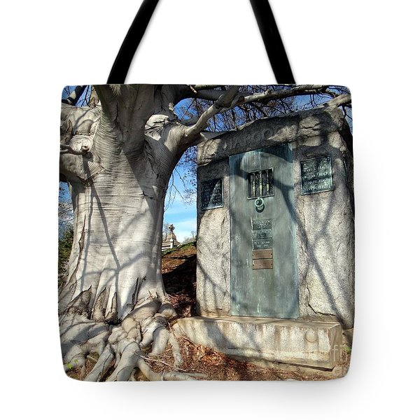 Too Close To Home Tote Bag by Ed Weidman