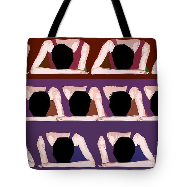 Too Cool For School Tote Bag by Patrick J Murphy