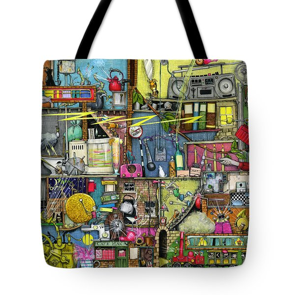 Too Loud Tote Bag by Colin Thompson