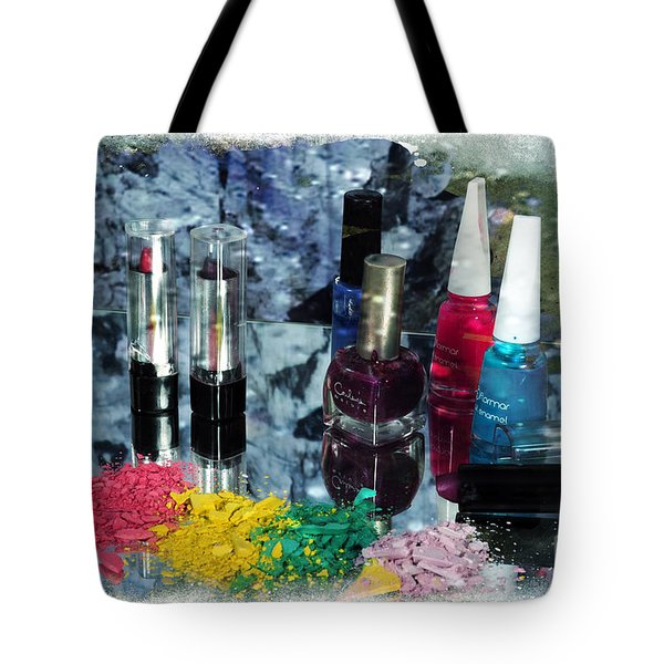 Too Much Makeup Tote Bag