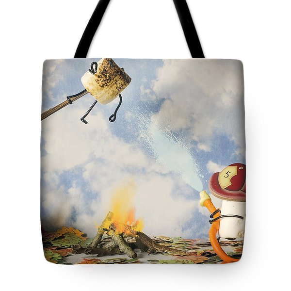 Too Toasted Tote Bag