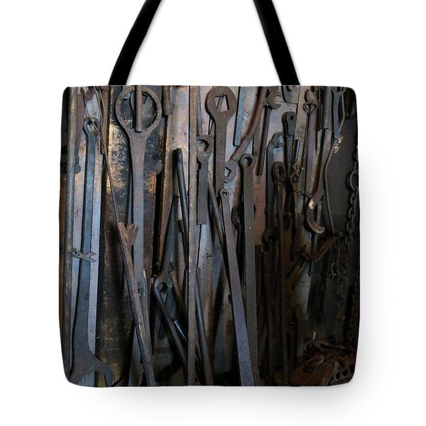 Tools Of The Roundhouse Tote Bag