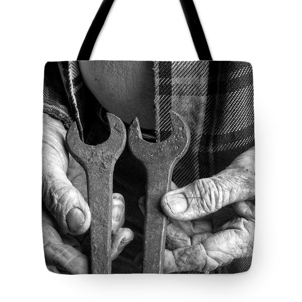 Tools Used All His Life Tote Bag