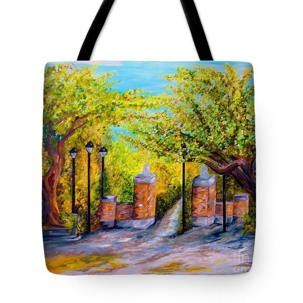 Toomer's Corner Oaks Tote Bag