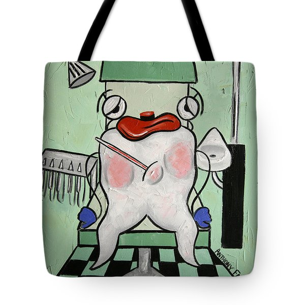 Tooth Ache Tote Bag by Anthony Falbo