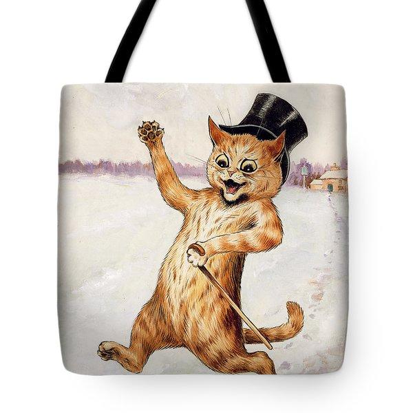 Top Cat Tote Bag by Louis Wain