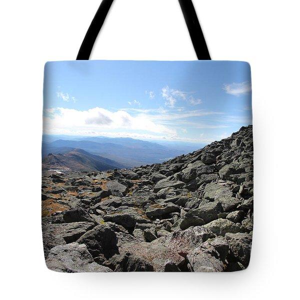 Top View Mt Washington Tote Bag