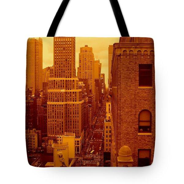 Top Of Manhattan Tote Bag