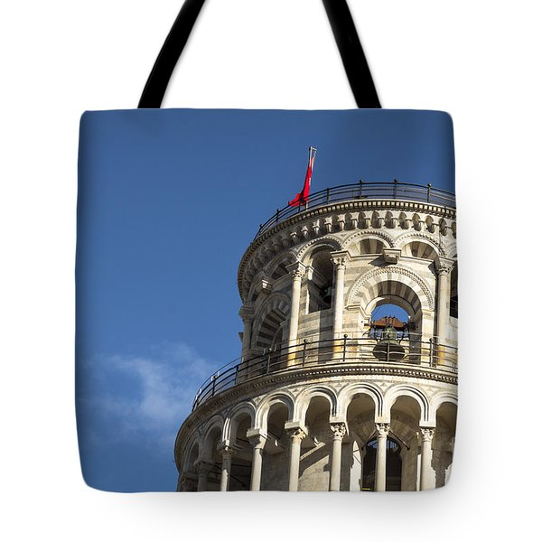 Top Of The Leaning Tower Of Pisa Tote Bag