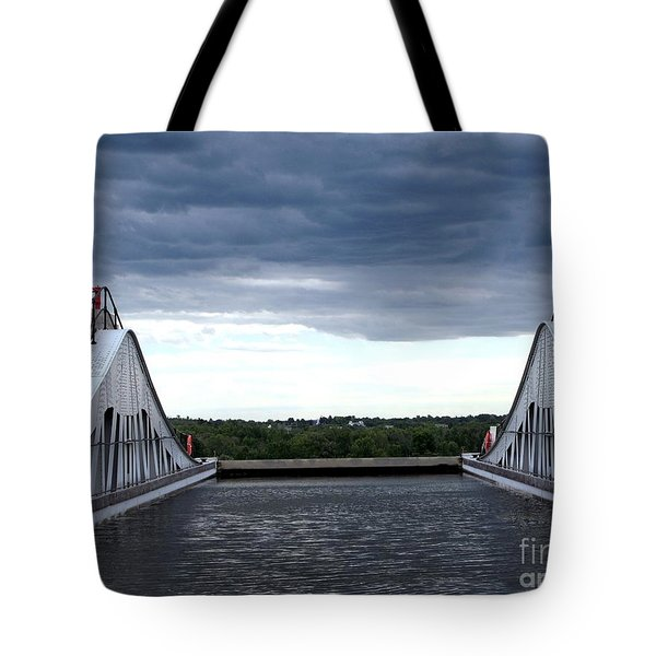 Top Of The Locks Tote Bag