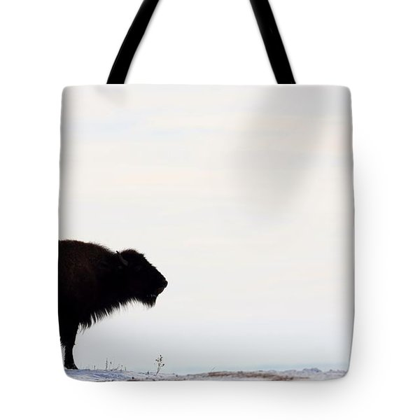 Top Of The Ridge Tote Bag