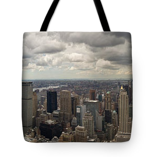 Top Of The Rock View Tote Bag