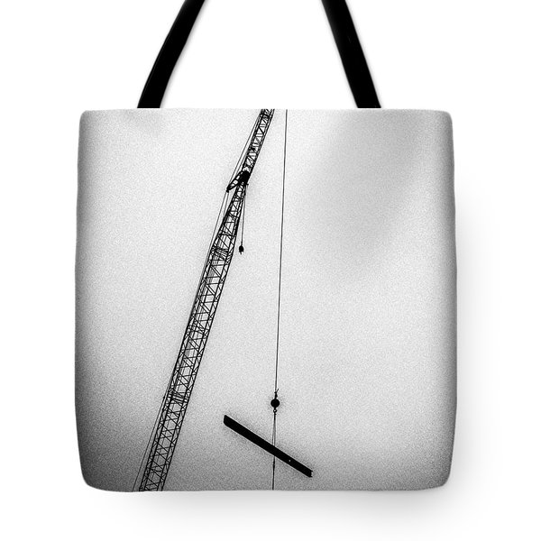 Top Of The Skyscraper Tote Bag by Bob Orsillo