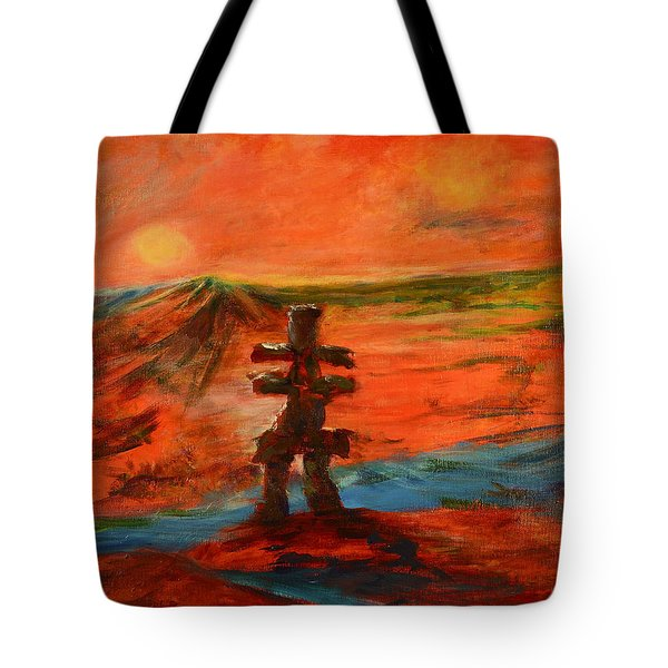 Top Of The World Tote Bag