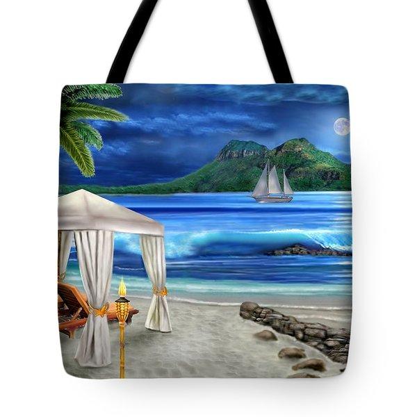 Tropical Paradise Tote Bag by Glenn Holbrook