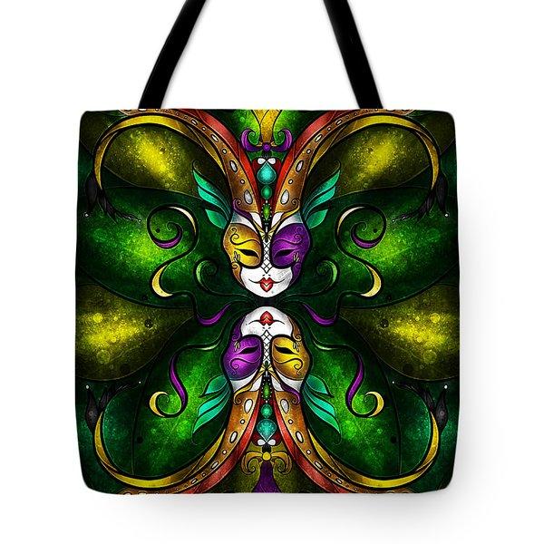 Topsy Turvy Tote Bag by Mandie Manzano
