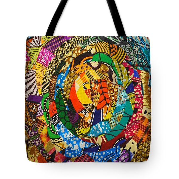 Tor Tote Bag by Apanaki Temitayo M