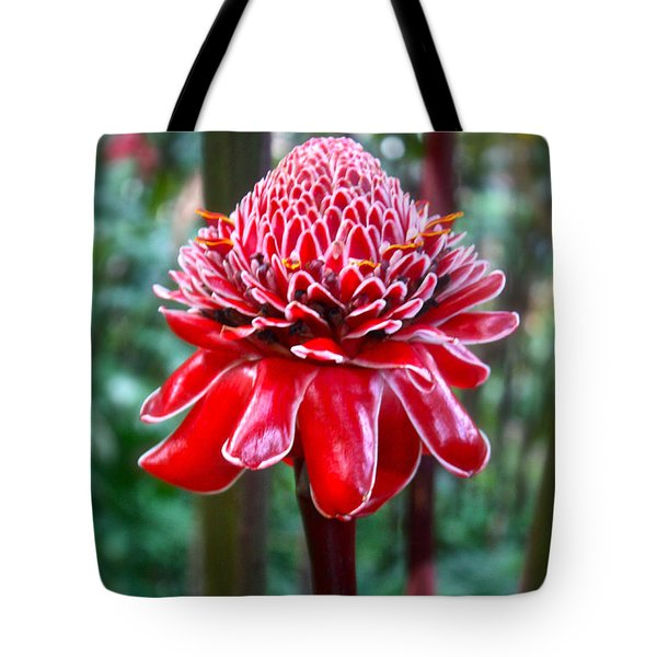 Torch Ginger In Hawaii Tote Bag by Venetia Featherstone-Witty