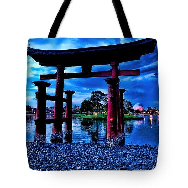 Torii Gate 2 Tote Bag